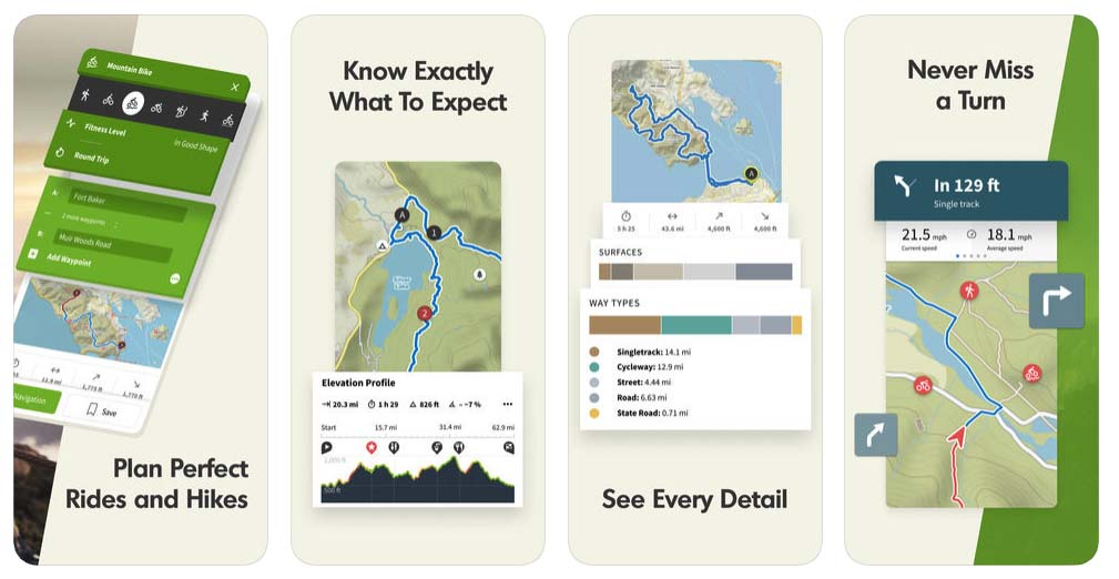 Komoot — Cycling & Hiking Maps