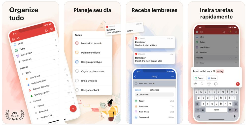 Todoist To do list e tarefas