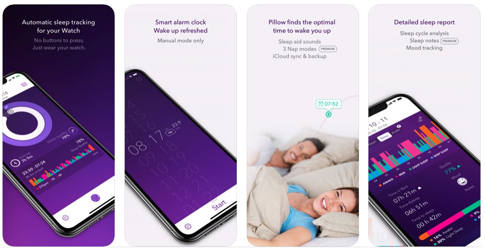 Pillow Automatics Sleep Tracker